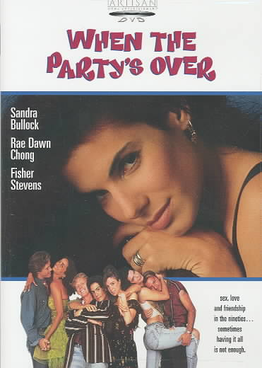 WHEN THE PARTYS OVER BY BULLOCK,SANDRA (DVD)
